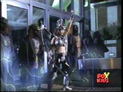 Vypra and her soldiers attack the Time Force Rangers