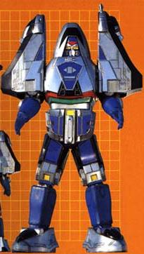 TIME FORCE MEGAZORD (mode blue)
