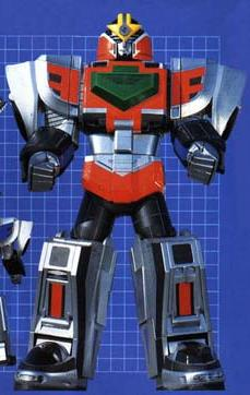 TIME FORCE MEGAZORD (mode red)