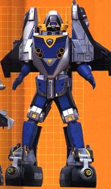 SHADOW FORCE MEGAZORD (mode blue)